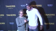 TI and Amare Stoudemire at the 'Takers' New York Special Screening at New York NY