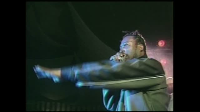 KRS1 and Ol Dirty Bastard rare performance together at Roseland Ballroom in NYC