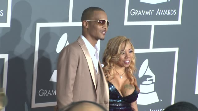 TI and Tiny at the 51st Annual Grammy Awards Part 5 at Los Angeles CA