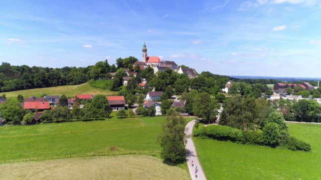Het klooster Andechs In Opper-Beieren