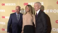 Anderson Cooper and guests at 2014 CNN Heroes An All Star Tribute Red Carpet at American Museum of Natural History on November 18 2014 in New York...