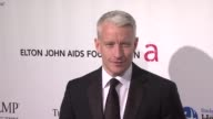 Anderson Cooper at the 8th Annual Elton John AIDS Foundation's 'An Enduring Vision' at New York NY