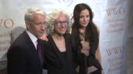 Anderson Cooper Dr Jane Aronson and MaryLouise Parker at the Worldwide Orphans Foundation Sixth Annual Benefit Gala Hosted By Heidi Klum And Seal at...