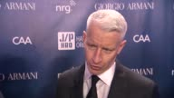 INTERVEIW Anderson Cooper on Haiti at Sean Penn Friends HELP HAITI HOME A Gala to Benefit J/P Haitian Relief Organization Presented by Giorgio Armani...
