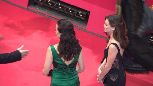 Andie MacDowell at Celebrity Sightings in Berlin at Berlinale Palast on February 11 2014 in Berlin Germany