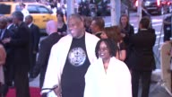 André Leon Talley and Whoopi Goldberg at the 'American Woman Fashioning A National Identity' Met Gala Arrivals at New York NY