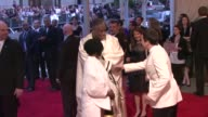 André Leon Talley Jmmy Fallon and Whoopi Goldberg at the 'American Woman Fashioning A National Identity' Met Gala Arrivals at New York NY