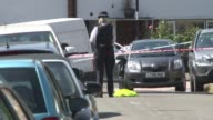 Three men jailed Andre Aderemi murder Three men jailed T17081630 1782016 Croydon Police at scene of stabbing of Andre Aderemi and floral tributes at...