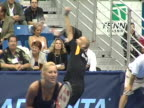Andre Agassi and Anna Kournikova at the 12th Annual World Team Tennis Smash Hits Benefiting the Elton John AIDS Foundation at Bren Events Center in...