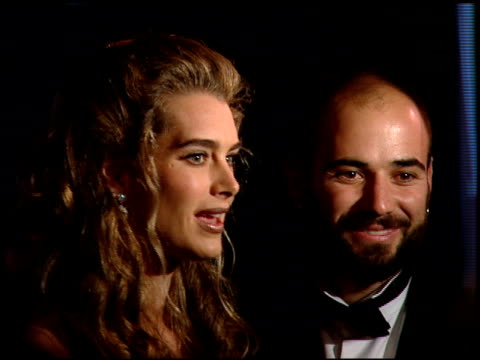 Andre Agassi at the 1997 People's Choice Awards at Santa Monica Airport in Santa Monica California on January 12 1997