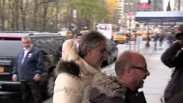 Andre Bocelli at the The RitzCarlton New York on 12/6/2011