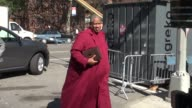 Andre Leon Talley at Spring 2013 MercedesBenz Fashion Week at Lincoln Center in New York NY on 09/11/12
