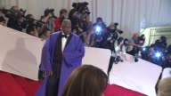 Andre Leon Talley at the 'Alexander McQueen Savage Beauty' Costume Institute Gala At The Metropolitan Museum Of Art at New York NY