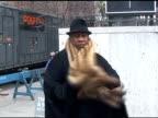 Andre Leon Talley at the Carolina Herrera show 02/14/11 at the Celebrity Sightings in New York at New York NY