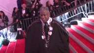 Andre Leon Talley at the 'The Model as Muse Embodying Fashion' Costume Institute Gala at The Metropolitan Museum of Art Arrivals at New York NY