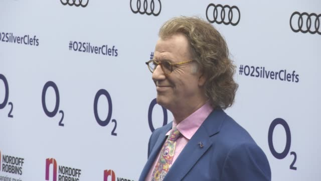 Andre Rieu at Nordoff Robbins O2 Silver Clef Awards at Grosvenor House on July 01 2016 in London England