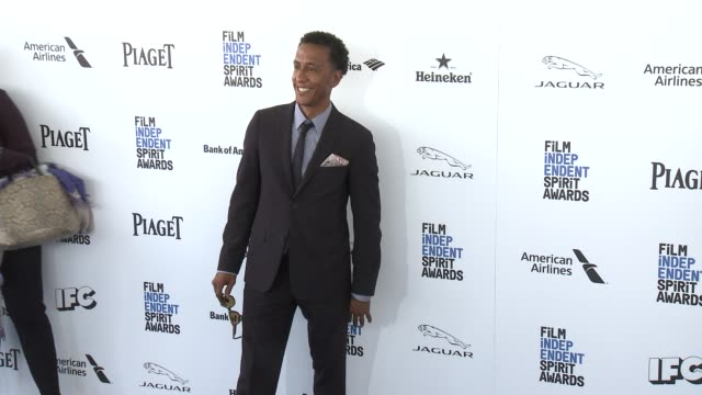 Andre Royo at the 2016 Film Independent Spirit Awards Arrivals on February 27 2016 in Santa Monica California