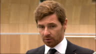 Andre VillasBoas gives first press conference as Tottenham Hotspur manager VillasBoas speaking to press SOT On appointing Stefan Freund as assistant...