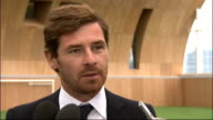 Andre VillasBoas gives first press conference as Tottenham Hotspur manager ENGLAND London Enfield Tottenham Hotspur Training Centre EXT Andre...