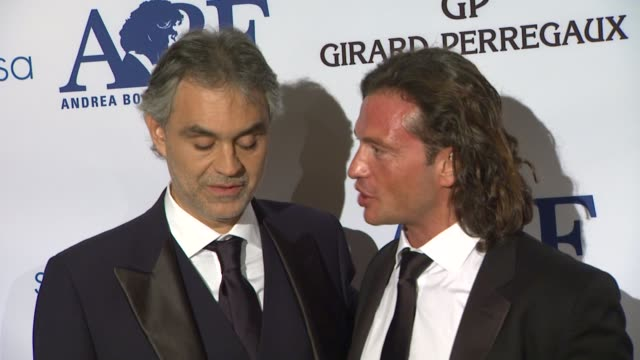 Andrea Bocelli and Manuele Malenotti