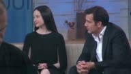 Andrea Riseborough and Clive Owen at the 'Good Morning America' studio Andrea Riseborough and Clive Owen at the 'Good on May 29 2013 in New York New...