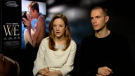 Andrea Riseborough and James D'Arcy on being inspired by Madonna at The WE Interview London on January 10th 2012