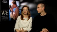 Andrea Riseborough and James D'Arcy on the rumours in the news at the time of the abdication at The WE Interview London on January 10th 2012