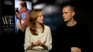 Andrea Riseborough and James D'Arcy on their first meeting with Madonna at The WE Interview London on January 10th 2012