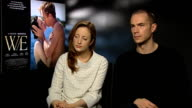 Andrea Riseborough and James D'Arcy on Wallace and Alberts relationship at The WE Interview London on January 10th 2012