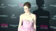 Andrea Riseborough at the 2011 Hollywood Style Awards at West Hollywood CA