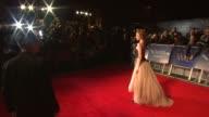 Andrea Riseborough at the WE Gala Premiere 55th BFI London Film Festival at London England