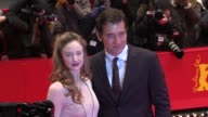 Andrea Riseborough Clive Owen at Shadow Dancer Premiere 62nd International Film Festival 2012 at on February 12 2012 in Berlin Germany
