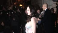 Andrea Riseborough Mark Strong Video Sightings on February 09 2013 in London England