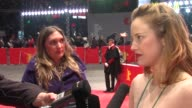 Andrea Riseborough on the Berlin Film Festival at Shadow Dancer Premiere 62nd International Film Festival 2012 at on February 12 2012 in Berlin...