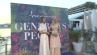 Andreja Pejic Magdalena Frackowiak at 5th Annual Generous People Gala benefitting The Heart Fund at Martinez Hotel on May 24 2017 in Cannes France