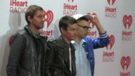 Andrew Dost Nate Ruess Jack Antonoff at iHeartRadio Music Festival Village Day 1 on 9/20/2013 in Las Vegas NV