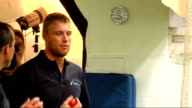 Andrew Flintoff visits MCC Coaching Academy Flintoff talking to MCC coaching staff members More of Flintoff bowling in nets Jamie Weir PTC Flintoff...