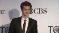 Andrew Garfield at 66th Annual Tony Awards Red Carpet at The Beacon Theatre on June 10 2012 in New York New York