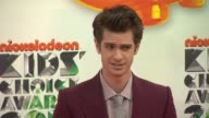 Andrew Garfield at Nickelodeon's 25th Annual Kids' Choice Awards on 3/31/2012 in Los Angeles CA