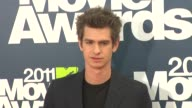 Andrew Garfield at the 2011 MTV Movie Awards at Los Angeles CA