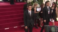 Andrew Garfield at the 68th Annual Golden Globe Awards Arrivals Part 2 at Beverly Hills CA