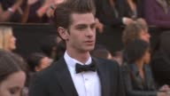 Andrew Garfield at the 83rd Annual Academy Awards Arrivals Pool Cam at Hollywood CA