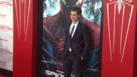 Andrew Garfield at 'The Amazing SpiderMan' Los Angeles Premiere Andrew Garfield at 'The Amazing SpiderMan' Los An at Regency Village Theatre on June...