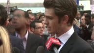 Andrew Garfield at The Amazing SpiderMan UK Premiere at Odeon Leicester Square on June 18 2012 in London England