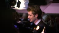 Andrew Garfield at the Never Let Me Go Premiere 54th BFI London Film Festival at London England