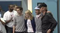 Andrew Garfield Emma Stone Marc Webb Rhys Ifand at 'Be Amazing' Stand Up Volunteer Initiative Brooklyn at Madison Boys And Girls Club on June 26 2012...