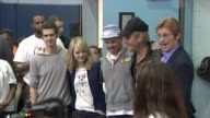 Andrew Garfield Emma Stone Marc Webb Rhys Ifans Denis Leary at 'Be Amazing' Stand Up Volunteer Initiative Brooklyn at Madison Boys And Girls Club on...