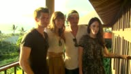Andrew Garfield Olivia Wilde Garrett Hedlund Megan Fox at the 2011 Maui Film Festival At Wailea Opening Night at Wailea HI