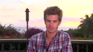 Andrew Garfield on his career goals before he became an actor at the 2011 Maui Film Festival Day 4 at Wailea HI