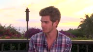 Andrew Garfield on how he has been spending his time in Maui at the 2011 Maui Film Festival Day 4 at Wailea HI